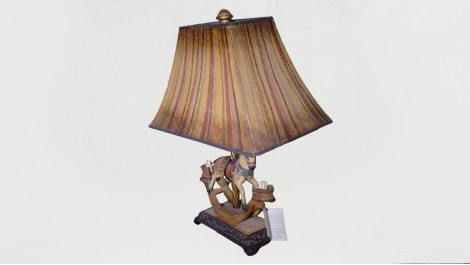 LAMPARA LED CABALLO